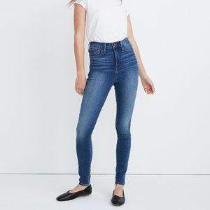 "Madewell 11"" High-Rise Roadtripper Jeans Size  25"